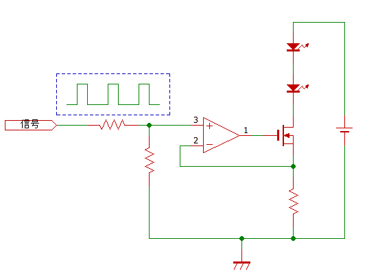 led-opamp