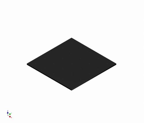ハーフサイズマイクロマウス 迷路用 ベース(4x4) - ウインドウを閉じる