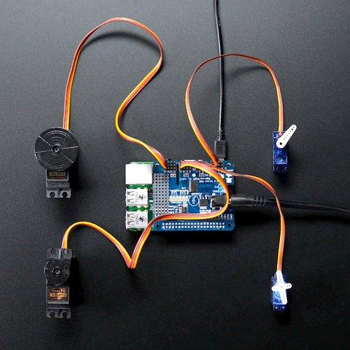 ADA1115 Adafruit Blue/&White 16x2 LCD+Keypad Kit for Raspberry Pi