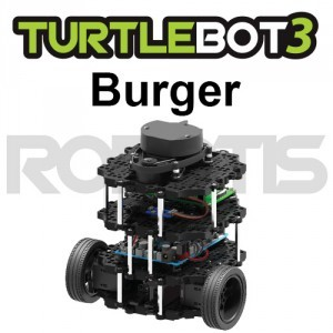 Turtlebot3 Burger (ACアダプター付属) [JP]