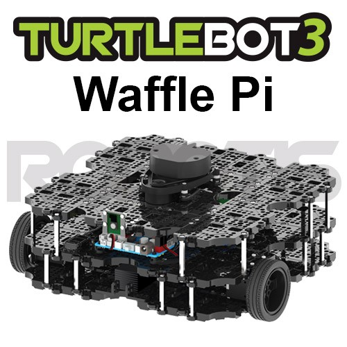 TurtleBot3 Waffle Pi (Power supply included)[JP]